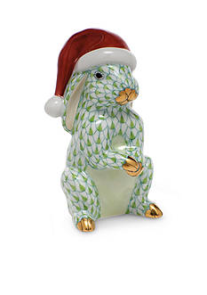 Herend Santa Bunny - Key Lime
