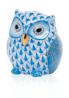 Herend Owlet - Blue