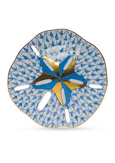 Herend Sand Dollar - Blue