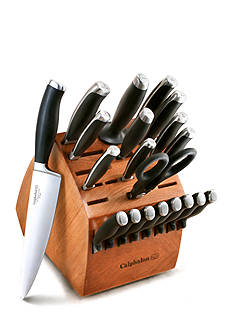 Calphalon 21-pc. No-Stain Steel Cutlery Set