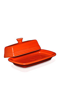 Fiesta Extra Large Covered Butter Dish 8.1-in.