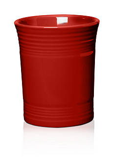 Fiesta Scarlet Utensil Crock