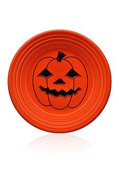 Fiesta Spooky Pumpkin Luncheon Plate