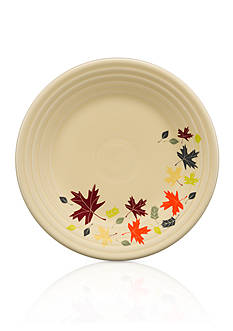 Fiesta Autumn Leaves Luncheon Plate