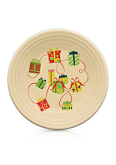 Fiesta Holiday Gifts Luncheon Plate