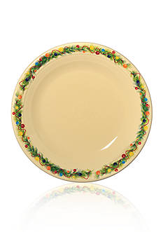 Fiesta Christmas Tree Dinner Plate