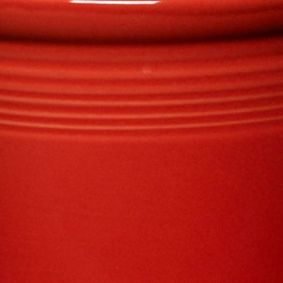For The Home: Fiesta Kitchen: Scarlet Fiesta Sunflower Medium Canister
