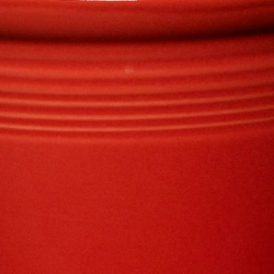 Kitchen Accessories: Counter Organizers: Scarlet Fiesta Large Canister 3-qt.
