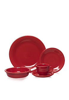 Fiesta Scarlet Dinnerware and Accessories
