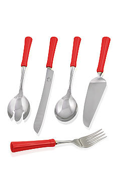 Fiesta Scarlet Ceramic Handle Serveware