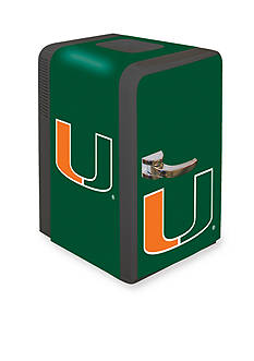Boelter NCAA Miami Hurricanes Portable Party Refrigerator