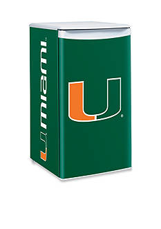 Boelter NCAA Miami Hurricanes Counter Top Height Refrigerator