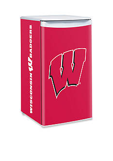 Boelter NCAA Wisconsin Badgers Counter Top Height Refrigerator