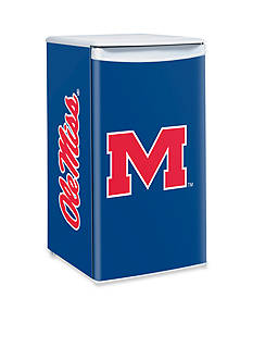 Boelter NCAA Ole Miss Rebels Counter Top Height Refrigerator