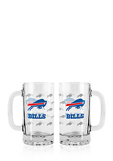 Boelter 16-oz. NFL Buffalo Bills 2-pack Glass Tankard Set