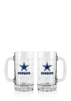 Boelter 16-oz. NFL Dallas Cowboys 2-pack Glass Tankard Set