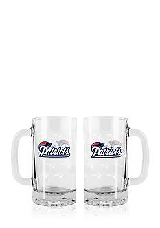 Boelter 16-oz. NFL New England Patriots 2-pack Glass Tankard Set