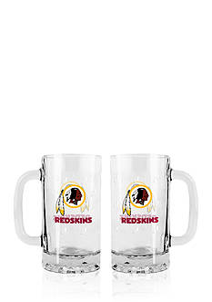Boelter 16-oz. NFL Washington Redskins 2-pack Glass Tankard Set