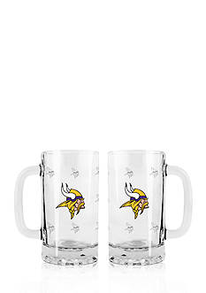 Boelter 16-oz. NFL Minnesota Vikings 2-pack Glass Tankard Set