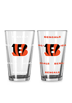Boelter 16-oz. NFL Bengals 2-pack Color Change Pint Glass Set