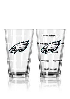 Boelter 16-oz. NFL Eagles 2-Pack Color Change Pint Glass Set