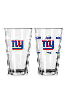 Boelter 16-oz. NFL New York Giants 2-pack Color Change Pint Glass Set