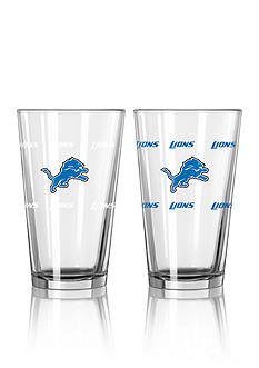 Boelter 16-oz. NFL Lions 2-Pack Color Change Pint Glass Set