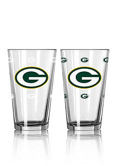Boelter 16-oz. NFL Packers 2-pack Color Change Pint Glass Set