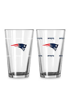 Boelter 16-oz. NFL Patriots 2-pack Color Change Pint Glass Set
