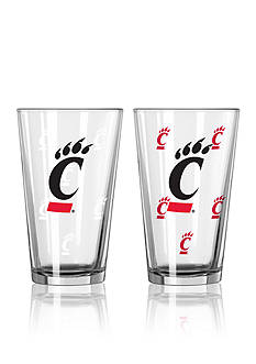 Boelter 16-oz. NCAA Cincinnati 2-Pack Color Change Pint Glass Set