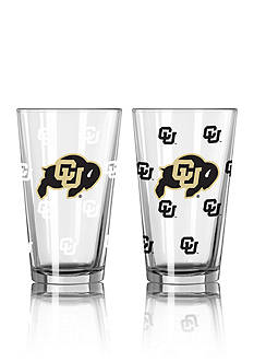 Boelter 16-oz. NCAA Colorado 2-pack Color Change Pint Glass Set