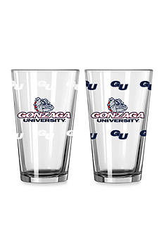 Boelter 16-oz. NCAA Gonzaga 2-pack Color Change Pint Glass Set