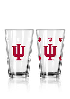 Boelter 16-oz. NCAA Indiana 2-Pack Color Change Pint Glass Set