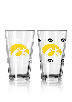 Boelter 16-oz. NCAA Iowa 2-Pack Color Change Pint Glass Set