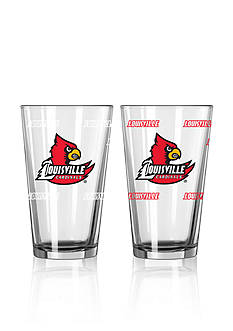 Boelter 16-oz. NCAA Louisville 2-pack Color Change Pint Glass Set
