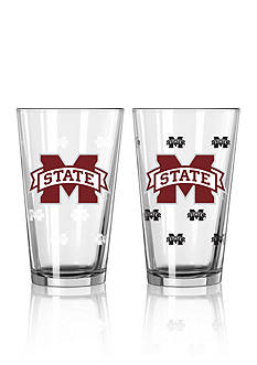 Boelter 16-oz. NCAA Mississippi State 2-pack Color Change Pint Glass Set