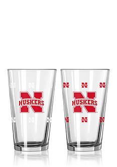 Boelter 16-oz. NCAA Nebraska Cornhuskers 2-pack Color Changing Pint Glass Set
