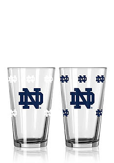 Boelter 16-oz. NCAA Notre Dame Fighting Irish 2-pack Color Changing Pint Glass Set