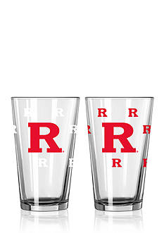 Boelter 16-oz. NCAA Rutgers University Scarlet Knights 2-pack Color Changing Pint Glass Set