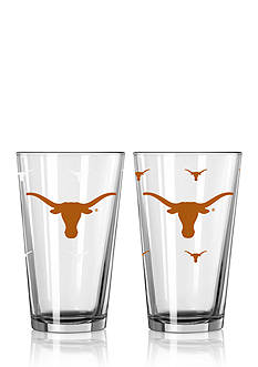 Boelter 16-oz. NCAA Texas Longhorns 2-pack Color Changing Pint Glass Set