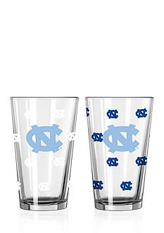Boelter 16-oz. NCAA UNC Tar Heels 2-pack Color Changing Pint Glass Set