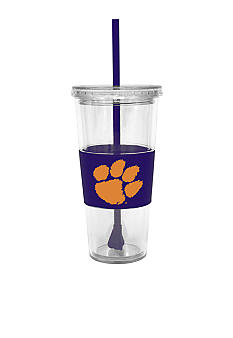 Boelter Clemson Tumbler with Lid and Straw