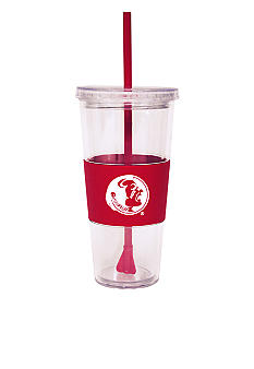 Boelter FSU Tumbler with Lid and Straw