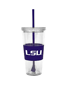 Boelter LSU Tumbler with Lid and Straw