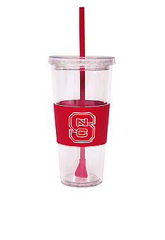 Boelter NC State Tumbler with Lid and Straw