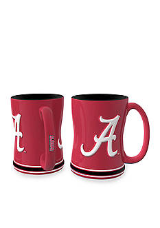Boelter 14-oz. NCAA Alabama Crimson Tide 2-Pack Relief Sculpted Coffee Mug Set