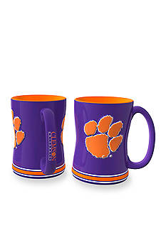 Boelter 14-oz. NCAA Clemson Tigers 2-Pack Relief Sculpted Coffee Mug Set