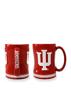Boelter 14-oz. NCAA Indiana Hoosiers 2-Pack Relief Sculpted Coffee Mug Set