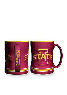 Boelter 14-oz. NCAA Iowa State Cardinals 2-pack Relief Sculpted Coffee Mug Set