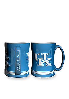 Boelter 14-oz. NCAA Kentucky Wildcats 2-pack Relief Sculpted Coffee Mug Set
